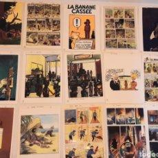 Coleccionismo Papel Varios: FETICHES TINTIN 53 LÁMINAS DE 15 X 20 EN PAPEL FOTOGRÁFICO. Lote 245908340