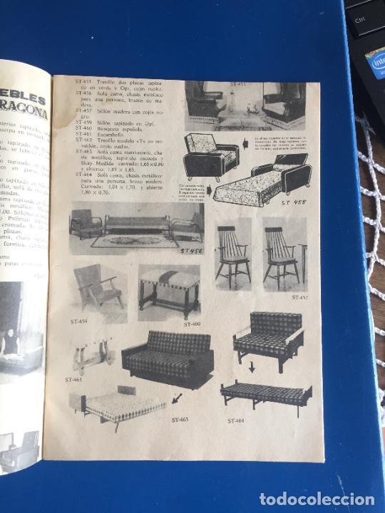 Coleccionismo Papel Varios: Antiguo folleto / propaganda muebles Tarragona catalogo muebles varios años 60- 70 - Foto 2 - 246548265
