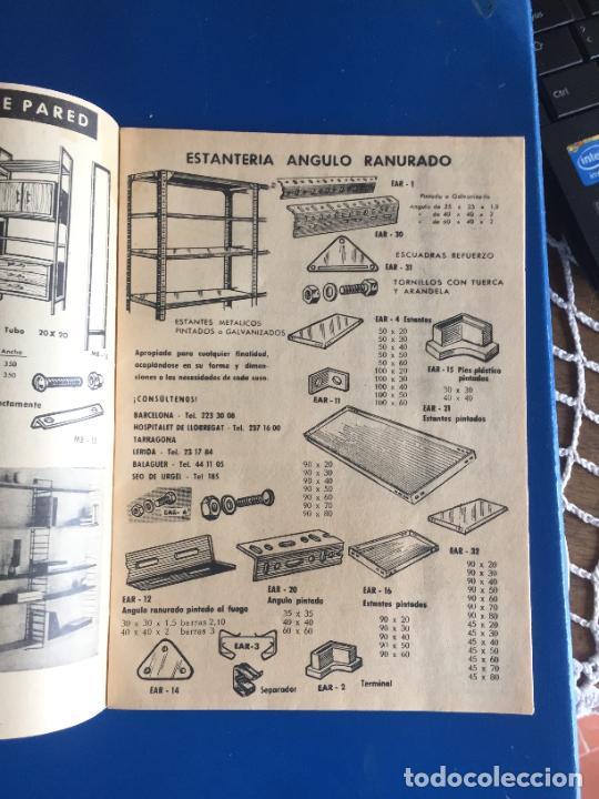 Coleccionismo Papel Varios: Antiguo folleto / propaganda muebles Tarragona catalogo muebles varios años 60- 70 - Foto 3 - 246548265
