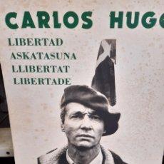 Coleccionismo Papel Varios: CARTÓN CARLISTA , 1977, CARLOS HUGO. Lote 246713850