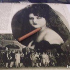Coleccionismo Papel Varios: RECORTE AÑO 1930.SRTA. POLITA BEDRÓS ,2º PUESTO EN MISS ESPAÑA.ATRAS SAN GINÉS DE VILASAR,ESCUELAS. Lote 247653590