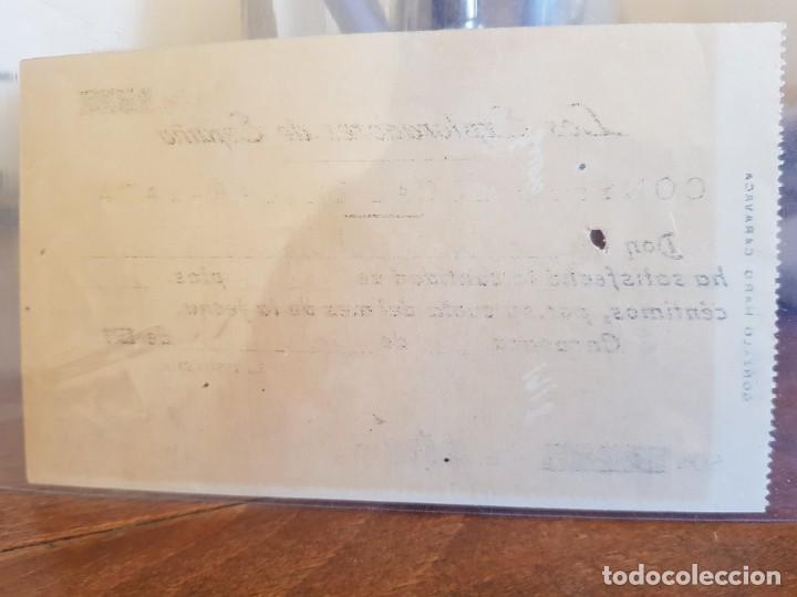 Coleccionismo Papel Varios: ANTIGUO RECIBO CONSEJO LOCAL BOY SCOUT EXPLORADORES DE ESPAÑA CARAVACA MURCIA 1917 - Foto 2 - 248559870
