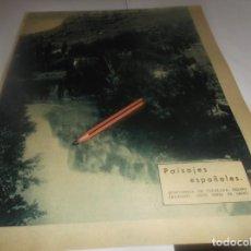 Coleccionismo Papel Varios: RECORTE AÑO 1934 - (BURGOS)QUINTANILLA DE ESCALADA (VALLE DEL SEDANO) FOTO PEREZ DE LEÓN. Lote 252053680