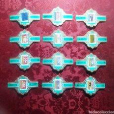 Coleccionismo Papel Varios: VITOLAS DE TABACO PAISES BAJOS ARVIC SERIE VERDE CAJAS DE TABACOS MEDIDAS 7 X 4'5 CM. Lote 252725890