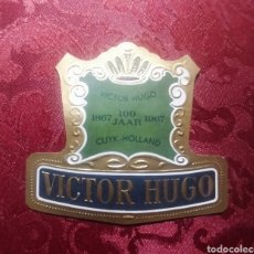 Coleccionismo Papel Varios: HABILITACIÓN VITOLA VÍCTOR HUGO 1867- 1967HOLANDA. Lote 252727120
