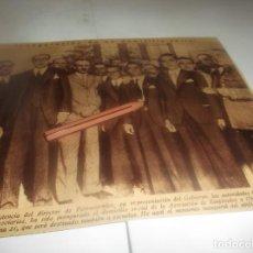 Coleccionismo Papel Varios: RECORTE AÑO 1934(CORDOBA)INAGURACION ASOCIACION DE FERROCARRILES .ATRAS (CORUÑA)MUERTE CONTRATISTA. Lote 253007540