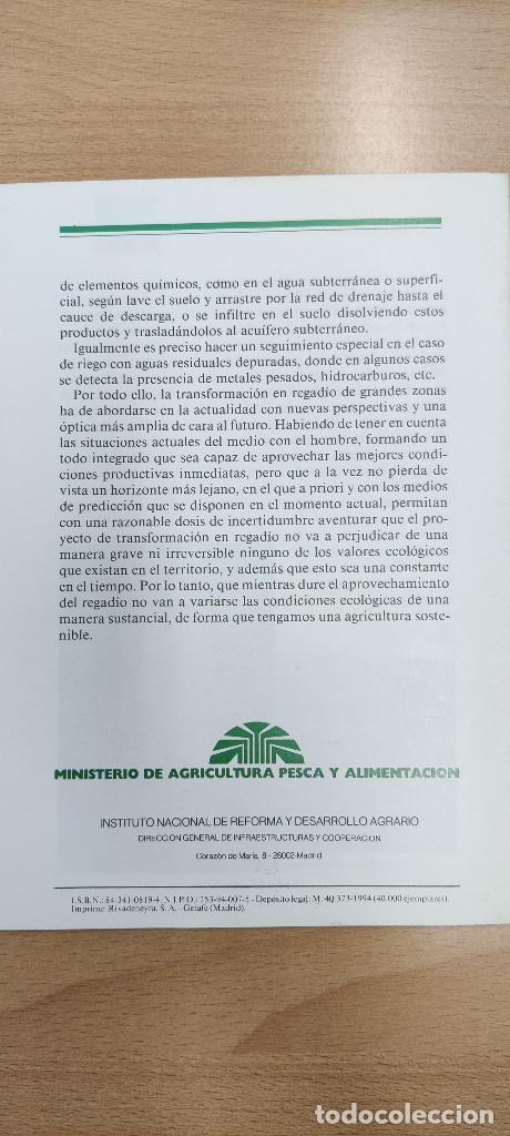 Coleccionismo Papel Varios: La transformación en regadio y el medio ambiente. Hojas divulgadoras Núm. 12/93 HD - Foto 2 - 253416160
