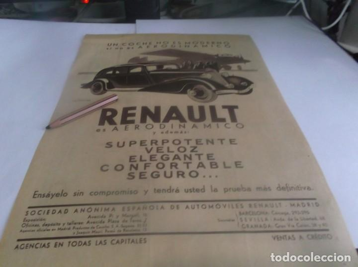 Coleccionismo Papel Varios: RECORTE AÑO 1934.(ZARAGOZA)FORENCIO PALOMEQUE DIRECTO CARCEL FUE TIROTEADO.ATRAS AUTOMOVIL RENAULT - Foto 2 - 253506030