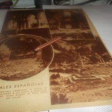 Coleccionismo Papel Varios: RECORTE AÑO 1931(NAVARRA)EL MONASTERIO DE IRANZU,EN ABARZAZU.ATRAS PERBOROL, CASTILLO DE FUENSALDAÑA. Lote 253516380