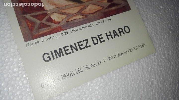 Coleccionismo Papel Varios: FOLLETO DE EXPOSICIÓN DE JAIME GIMÉNEZ DE HARO - Foto 2 - 253577310