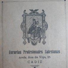 Outros artigos de papel: CUADERNO ESCUELAS PROFESIONALES SALESIANAS MUY ANTIGUO. Lote 253919525