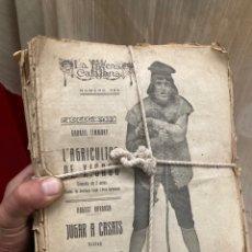 Coleccionismo Papel Varios: GRAN LOTE REVISTAS LA ESCENA CATALANA!1930!. Lote 253928145