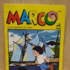 Coleccionismo Papel Varios: LIBRETA CUADERNO SERIE DE DIBUJOS MARCO, CENTAURO TOTALMENTE NUEVA 1977. Lote 253982005