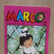 Coleccionismo Papel Varios: LIBRETA CUADERNO SERIE DE DIBUJOS MARCO TOTALMENTE NUEVA 1977. Lote 253984605