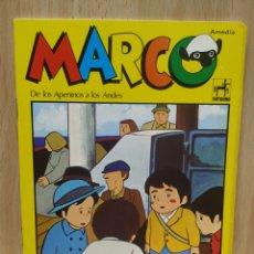 Coleccionismo Papel Varios: LIBRETA CUADERNO SERIE DE DIBUJOS MARCO TOTALMENTE NUEVA 1977. Lote 253985380