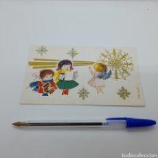 Coleccionismo Papel Varios: DIPTICO ILUSTRADO. ANTIGUO CHRISTMAS DE NAVIDAD, AÑOS 60. LIT. ARMENGOT. Lote 254071005