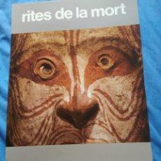 Coleccionismo Papel Varios: CARTEL ORIGINAL EXP/ TIRES DE LA MORT- MUSEE DE L'HOME PARÍS 1980.. Lote 254146800