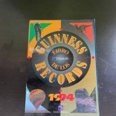 Coleccionismo Papel Varios: GUINNESS DE LOS RÉCORDS 1994. Lote 254156015