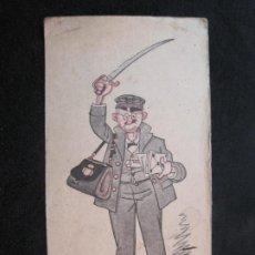 Altri oggetti di carta: EL CARTERO-EL SABLAZO ANUAL-FELICITACION ANTIGUA-VER FOTOS-(79.702). Lote 254416295