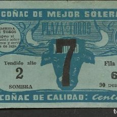 Coleccionismo Papel Varios: ENTRADA PLAZA DE TOROS DE MADRID. TENDIDO ALTO 2. FILA 16. 90 PESETAS. (P/D51). Lote 254948925