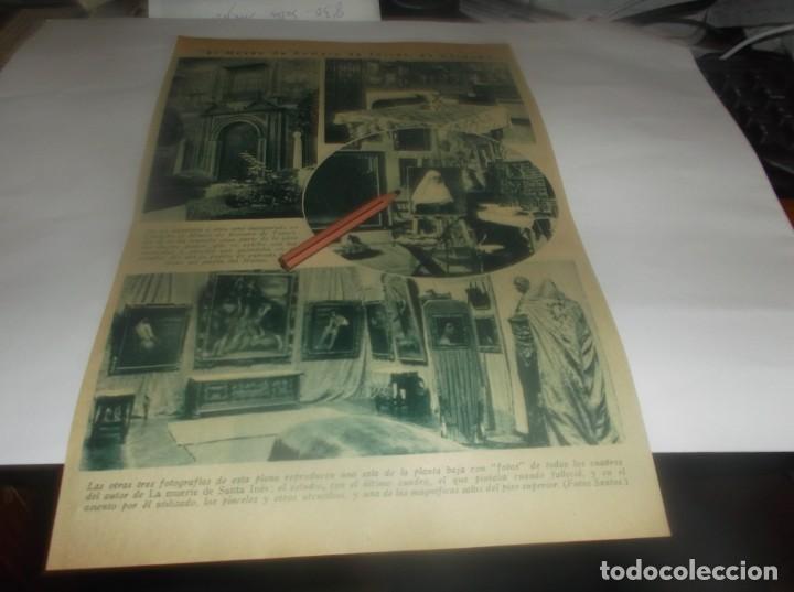 RECORTE PUBLICIDAD AÑO 1931 - CÓRDOBA .- MUY PRONTO SE INAGURA EL MUSEO DE JULIO ROMERO DE TORRES (Coleccionismo en Papel - Varios)