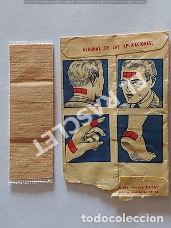 Coleccionismo Papel Varios: ANTIGÜO SOBRE DE TIRITAS LABORATORIOS UNITEX DE MATARO - Foto 3 - 255433710