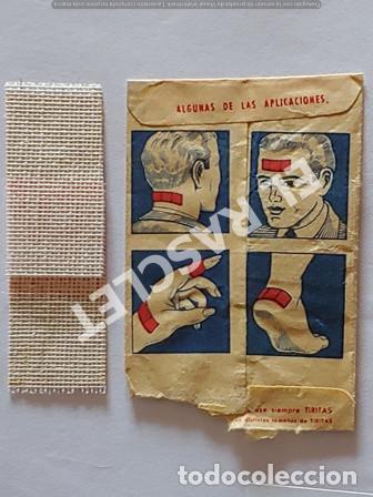 Coleccionismo Papel Varios: ANTIGÜO SOBRE DE TIRITAS LABORATORIOS UNITEX DE MATARO - Foto 4 - 255433710