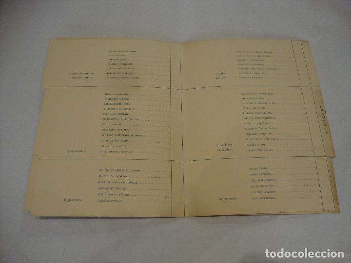Coleccionismo Papel Varios: CARTA MENU PARADOR NACIONAL DEL VALLE DE ARAN LERIDA - Foto 3 - 255483915