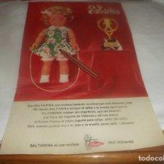 Coleccionismo Papel Varios: RECORTE PUBLICIDAD AÑO 1976 -MUÑECA SALTARINA DE FAMOSA(ARO DE ORO AL JUGUETE NIÑAS - ONIL(ALICANTE). Lote 255535360