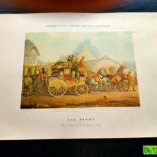 Coleccionismo Papel Varios: LAMINA CON MOTIVO DE ÉPOCA. Lote 257693510