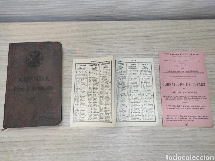Coleccionismo Papel Varios: agenda pont à mousson 1928 - Foto 3 - 259219845