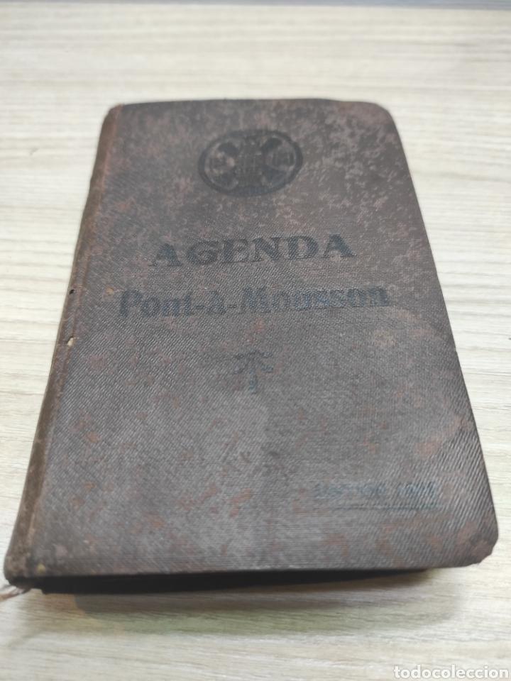 AGENDA PONT À MOUSSON 1928 (Coleccionismo en Papel - Varios)