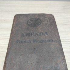 Coleccionismo Papel Varios: AGENDA PONT À MOUSSON 1928. Lote 259219845
