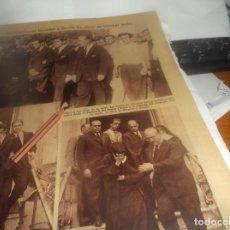 Coleccionismo Papel Varios: RECORTE AÑO 1934 - SEVILLA - LA MUERTE DEL GRAN TORERO SÁNCHEZ MEJÍA. Lote 259318125