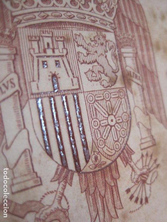 Coleccionismo Papel Varios: ALMUERZO AYUNTAMIENTO BARCELONA-PROTECTORADO MARRUECOS-AÑO 1942-OLIVA DE VILANOVA-VER FOTOS-(K-2689) - Foto 2 - 261087535