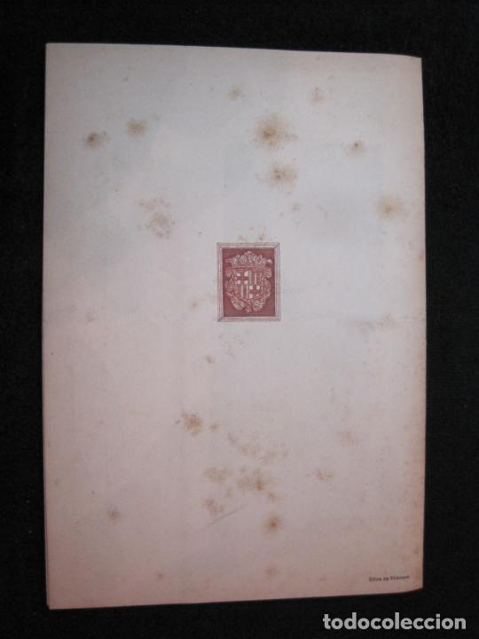 Coleccionismo Papel Varios: ALMUERZO AYUNTAMIENTO BARCELONA-PROTECTORADO MARRUECOS-AÑO 1942-OLIVA DE VILANOVA-VER FOTOS-(K-2689) - Foto 6 - 261087535