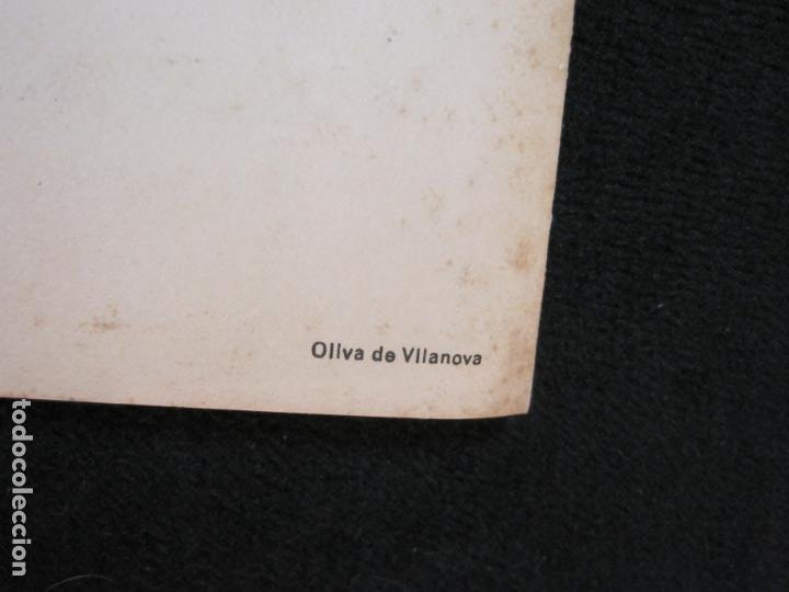 Coleccionismo Papel Varios: ALMUERZO AYUNTAMIENTO BARCELONA-PROTECTORADO MARRUECOS-AÑO 1942-OLIVA DE VILANOVA-VER FOTOS-(K-2689) - Foto 7 - 261087535