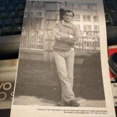 Coleccionismo Papel Varios: HOJA PUBLICACION INFORMACION GRAFICA O FOTOGRAFICA 23,6X16 CM APROXIMADOS - FERNANDO G. TOLA. Lote 261345085