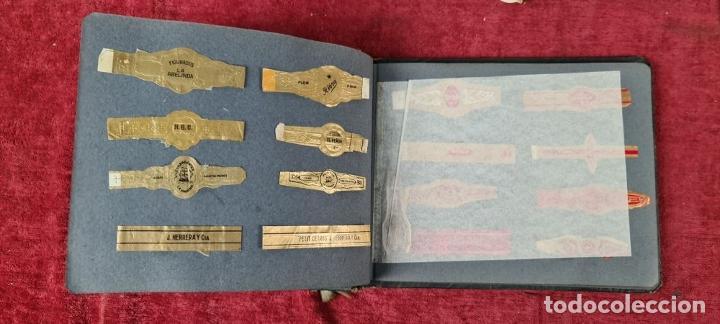 Coleccionismo Papel Varios: COLECCION DE 735 VITOLAS DE CIGARROS PUROS. VARIAS MARCAS. SIGLO XX. - Foto 14 - 261785115