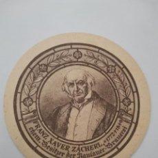 Coleccionismo Papel Varios: OCASION COLECCIONISTAS POSAVASOS ANTIGUO AÑOS 70 80 CERVEZA PAULANER . FRANZ XAVER ZACHERL. Lote 262054090