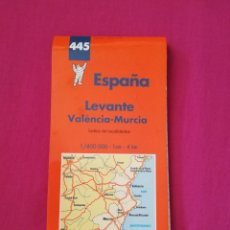 Coleccionismo Papel Varios: MAPA CARRETERAS MICHELIN LEVANTÉ ORIGINAL. Lote 262054325