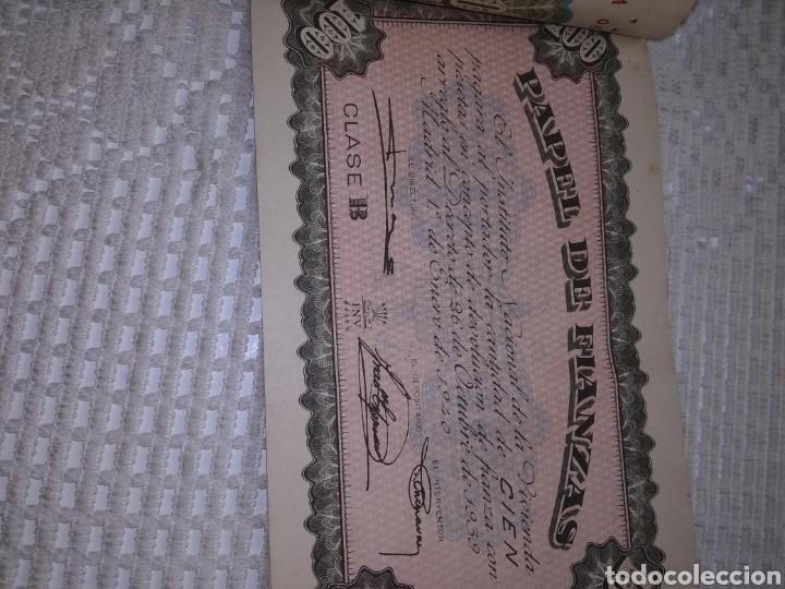Coleccionismo Papel Varios: PAPEL DE FIANZAS .11 UNIDADES. AÑOS 1940 y 1962 - Foto 5 - 262058560
