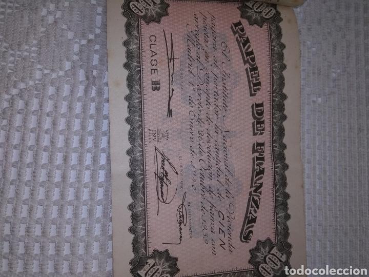 Coleccionismo Papel Varios: PAPEL DE FIANZAS .11 UNIDADES. AÑOS 1940 y 1962 - Foto 7 - 262058560