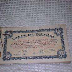 Coleccionismo Papel Varios: PAPEL DE FIANZAS .11 UNIDADES. AÑOS 1940 Y 1962. Lote 262058560
