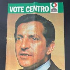 Coleccionismo Papel Varios: PÓSTER JOSE EL ADOLFO SUÁREZ. Lote 262805610