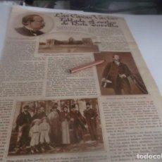 Coleccionismo Papel Varios: RECORTE AÑO 1932 -VILLAVIUDAS(PALENCIA)TABLADA,RETIRO DEL POLÍTICO PARTIDO PROGRESISTA.RUIZ ZORRILLA. Lote 263101415