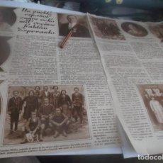 Coleccionismo Papel Varios: RECORTE AÑO 1932 - CHESTE(VALENCIA)UN PUEBLO ESPAÑOL CUYOS 8.000 VECINOS HABLAN ESPERANTO. Lote 263114100