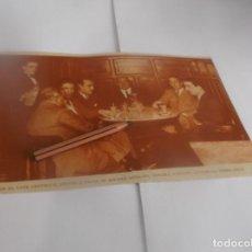 Coleccionismo Papel Varios: RECORTE AÑO 1934 . MADRID . EN CAFÉ CENTRICO SE REUNEN ANSALDO,TONDRA,SORIANO,COTERILLO,GOMEZ LUCIA. Lote 263117315