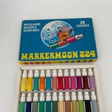 Coleccionismo Papel Varios: ANTIGUOS ROTULADORES - MARKERMOON 224. Lote 263949565