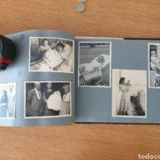 Coleccionismo Papel Varios: ALBUM ANTIGUO CON 49 FOTOS ORIGINALES AÑOS 1955 1958 - CASTELLDEFELS, CASTELLÓN. Lote 264654274